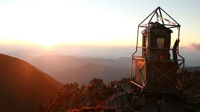 Musala Peak 2925 m altitude