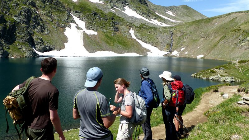 Rila lakes guided hike