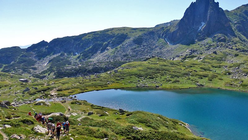 Summer hike 7 Rila lakes