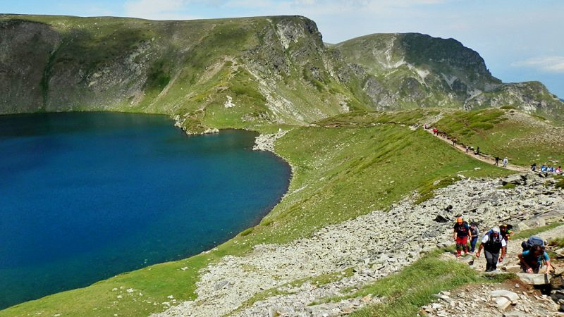 The Eye glacial lake Bulgaria