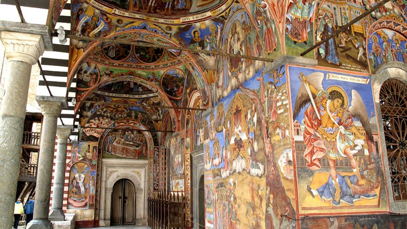 Orthodox paintings Rila Monastery