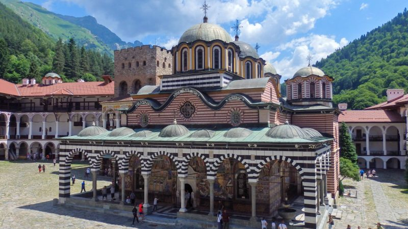 Rila Monastery principal church
