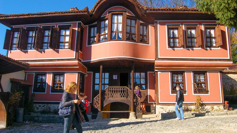 Koprivshtitsa, historic house-museum, Old Town, Bulgarian National Revival Period, Architecture