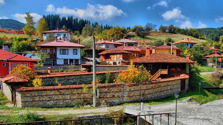 Koprivshtitsa day tour, buildings, old town, forest, vivid, village